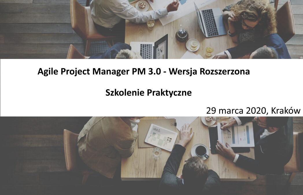 Szkolenie Agile Project Manager – Wersja Rozszerzona