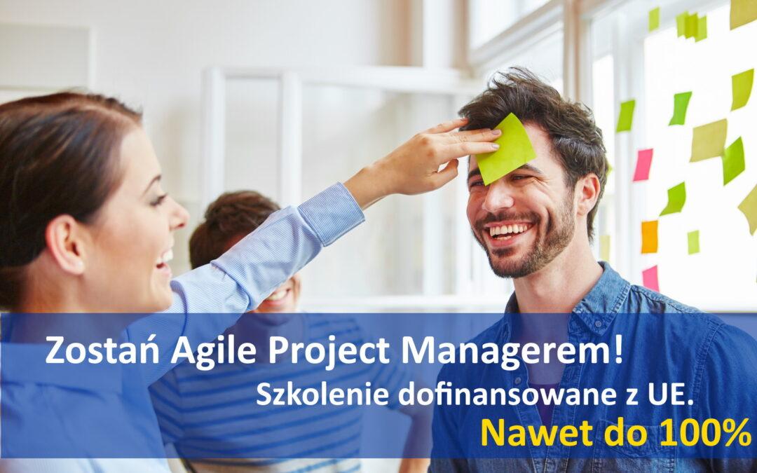 Szkolenie dofinansowane z UE – Agile Project Manager